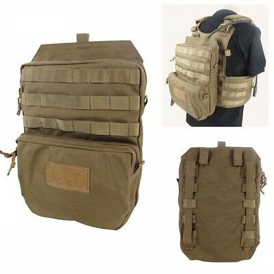 Hiking 3L Hydration Pack Tactical Molle Water Reservoir Backpack for JPC Vest CB