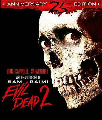 Evil Dead 2: Dead by Dawn (Blu-ray 25th Anniversary Edition) Bruce Campbell NEW