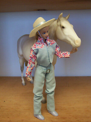 Breyer Peter Stone Horse Rider Doll Lets Go Riding Western Pleaure 1410