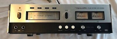 Vintage Realistic Studio TR-882 Stereo 8-Track Tape Player/Recorder Deck 14-944