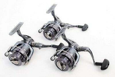 Lot of 3 Daiwa Crossfire 2500-3Bi Spin Fishing Reels, NEW in Boxes