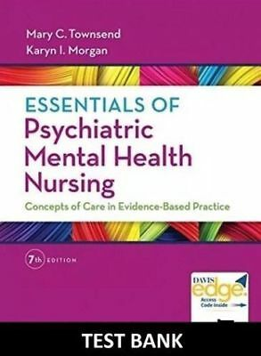 TEST BANK Essentials of Psychiatric Mental Health Nursing 7th Edition pdf