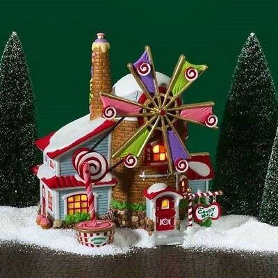 Department 56 North Pole Village - Christmas Candy Mill - 56762 - used - MIB