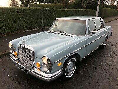 1971 Mercedes 280S W108 ,stunning Rustfree California Car,47,000 Miles From New