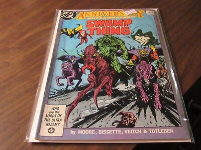 Swamp Thing #50 First Appearance of Justice League Dark DC 1986 KEY Comic Book