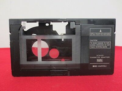 RCA VHS-C to VHS S-VHS SVHS Video Cassette Tape Adapter VCA115 Tested