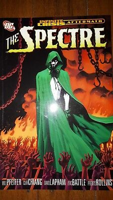 The Spectre Graphic Novel Comic Book Paperback