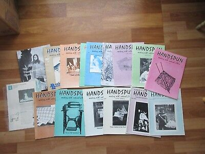 Lot of ~Hand Spinning Booklets Vintage 1986-87 natural fibers Wool Sew Informal
