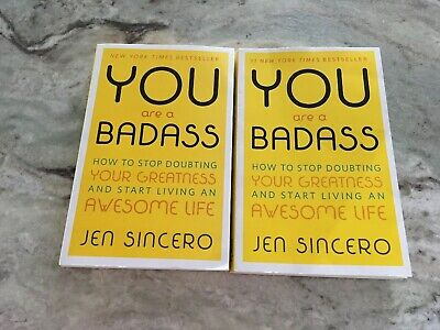 You Are A Badass Jen Sincero Start Living An Awesome Life Self Help Book