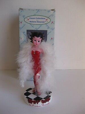 "Betty Boop 5 1/2"" Figurine Classic Collectibles From Madame Alexander #90320"