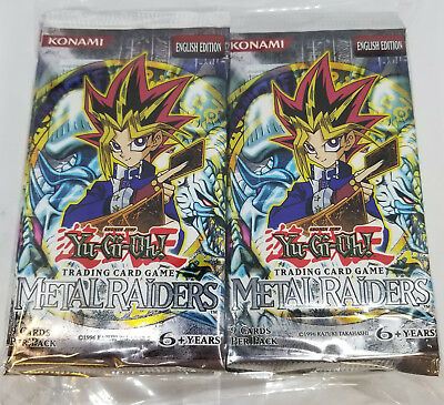 24x YUGIOH METAL RAIDERS [MRD] UNSEARCHED BOOSTER PACKS (24 PACKS = 1 BOX)