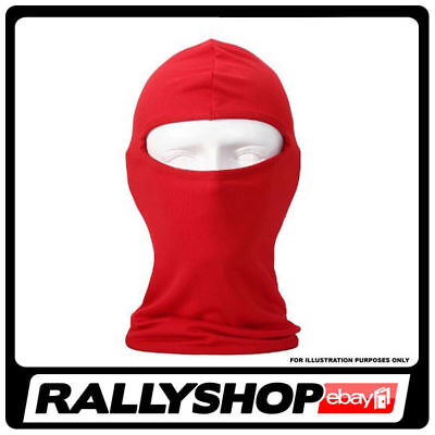 CHEAP Rallyshop Balaclava One Size Rally Race Racing Motorsport RED Protect