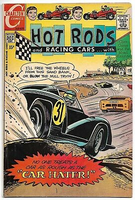 Hot Rods and Racing Cars #105 (Charlton 1970) – Clint Curtis & Road Knights – FN