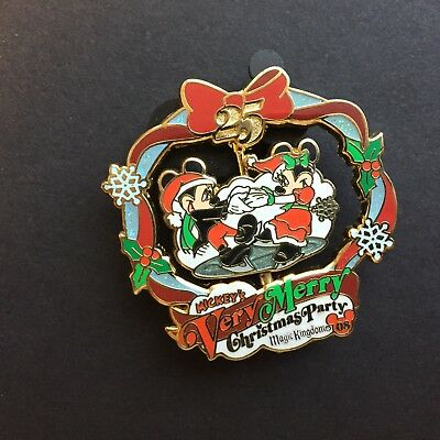 WDW - Mickey's Very Merry Christmas Party 2008 Mickey & Minnie Disney Pin 66339