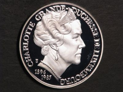 LUXEMBOURG 1996 25 Ecu Charlotte Silver Choice Proof