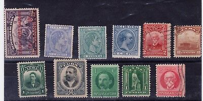 Carribean Stamps ex Spanish colonies