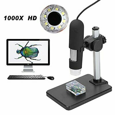 Aomekie 1000X USB Digitales Mikroskop Magnifier Endoscope Video Kamera mit 8 ...