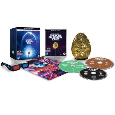 Ready Player One 4K Ultra HD / Includes Egg Light+3D+2D / WORLDWIDE SHIPPING