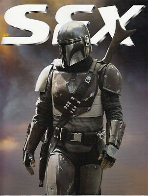 Sfx Magazine 308 January 2019 The Mandalorian Cover - Subscribers Cover!!!
