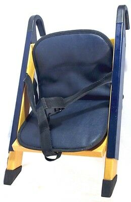 Handysitt Portable Cushioned Highchair Booster Seat With Harness FAST FREE POST