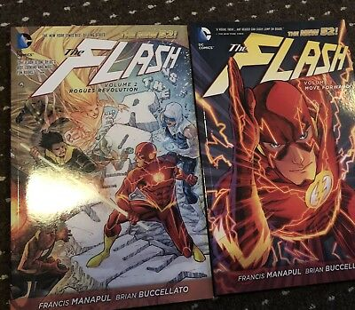 Dc Comics The Flash New 52 Vol 1 And 2 Brnad New
