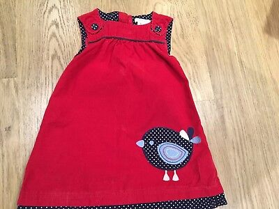 Lovely red dress from Jojo Maman  Bebe (age3-4)