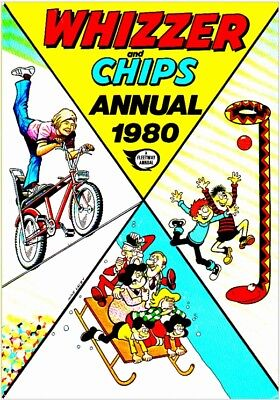 Uk Comics Whizzer And Chips Annuals Digital Collection Of Humour Books On Dvd