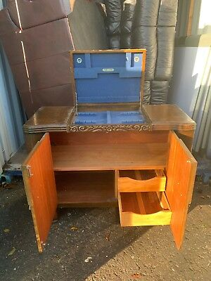 antique sideboard cabinet Cutlery Draw