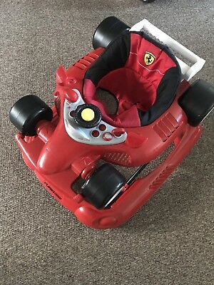 Ferrari Baby Walker From 6months Adjustable Heights Excellent Condition musical