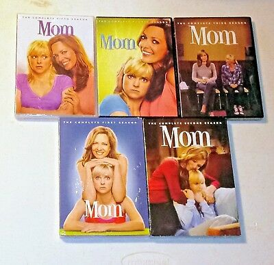 Brand New! Mom: Complete Seasons 1-5, 1 2 3 4 5. 15-Disc Dvd Bundle. Ships Free