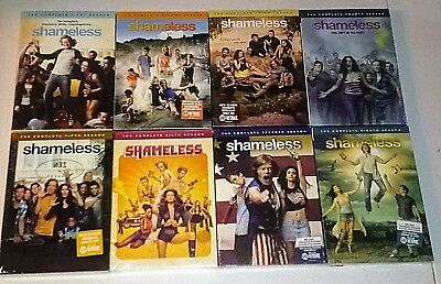 New!  Shameless: Seasons 1-8, 1 2 3 4 5 6 7 8. 24 Discs Bundled Set. Ships Free
