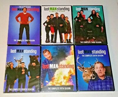 New! Last Man Standing: Seasons 1-6, 1 2 3 4 5 6. 18-Dvd Bundled Set. Ships Free