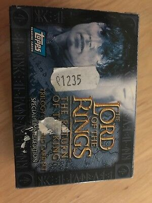 The Lord Of The Rings Special Ltd Edition Trading Card Se