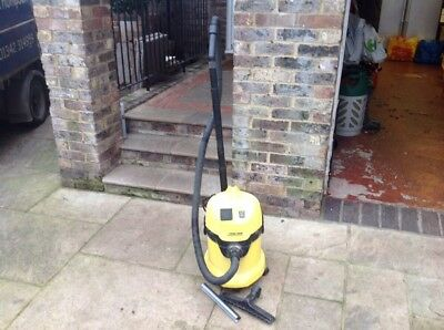 Karcher WD 3,500 P Industrial Hoover (some Attachments Missing)