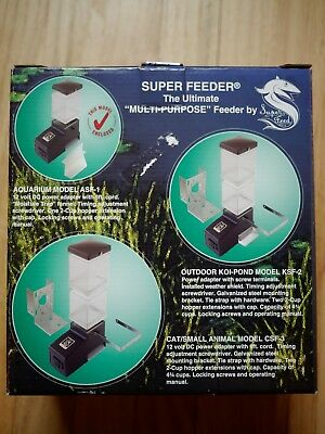 Aquarium Super Feeder ASF-1 Automatic Fish Feeder - Made in the USA