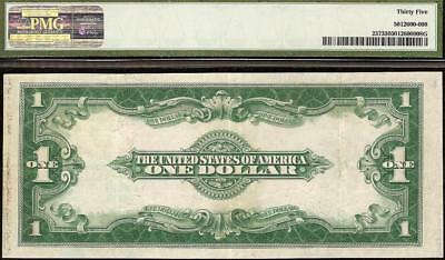 Large 1923 $1 Dollar Bill Silver Certificate Note Paper Currency Money Pmg 35