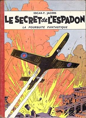 Blake Et Mortimer Le Secret De L Espadon Tome 1 Avec Point Tintin