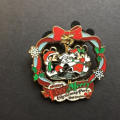 WDW Mickey's Very Merry Christmas Party 2008 Mickey & Minnie LE Disney Pin 66339