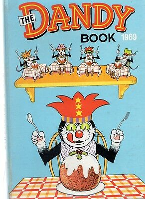 The Dandy Annual 1969. Acceptable to Good Condition for its age