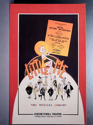 "TRITON offers Orig 1981 Broadway Poster LITTLE ME musical revival ""as-is"" sale"