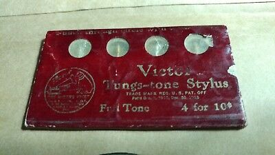 Victor Tungs-tone Needles For Victor Victrolas.. new old stock