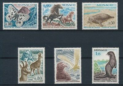 [87135] Monaco 1970 Fauna good set Very Fine MNH stamps
