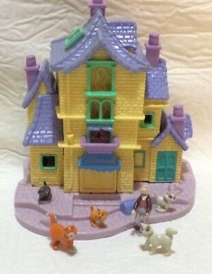 polly pocket bluebird vintage 1998 Disney les Aristochats  complet