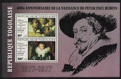 SALE Togo 400th Birth Anniversary of Rubens MS MNH SG#MS1232 FREE POSTAGE