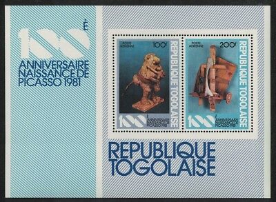 SALE Togo Birth Centenary of Pablo Picasso MS MNH SG#MS1549 SC#C452a FREE
