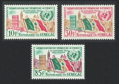 SALE Senegal 1st Anniversary of Admission of Senegal to UNO 3v MNH SG#245-247