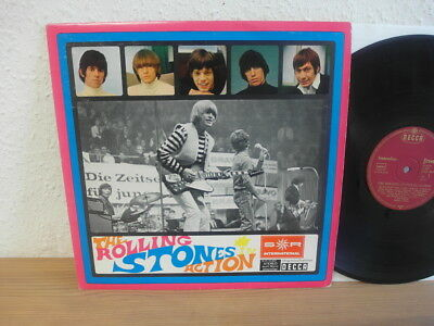 The Rolling Stones In Action 1966 Mint German 1St Press