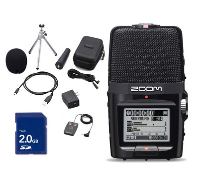 Zoom H2n Handy Recorder & Accessory Pack