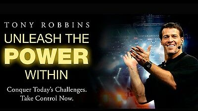 Tony Robbins Unleash The Power Within GOLD Ticket London Excel April 2019 UPW
