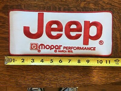 JEEP SIGN GIANT JEEP PATCH JEEP THING VINTAGE JEEP WILLY's NOS